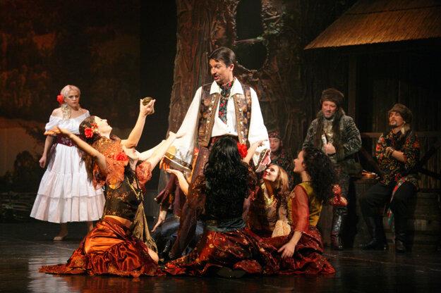 Franz Lehár: Gipsy Love, derniere of operetta