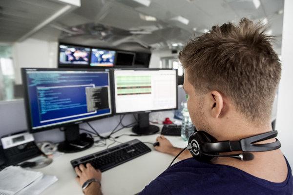 Fighting against malware in Slovak antivirus company Eset.