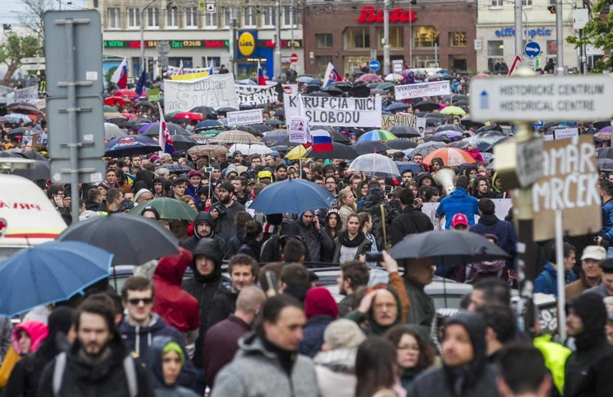 2c5989c82 The perception of corruption in Slovakia has been the worst since 2013