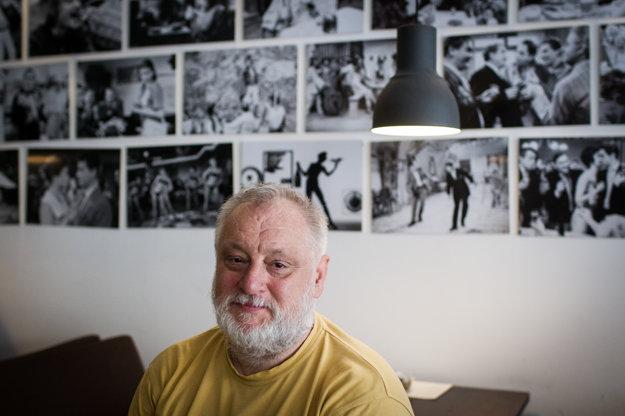 SFTA head - and film actor and director - Martin Šulík.
