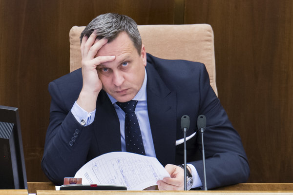 Andrej Danko, speaker of parliament