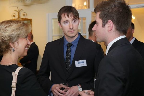 Students and business leaders could network at the Mentor Network Program in late May.