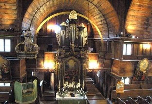 The wooden evangelical articular church in Kežmarok