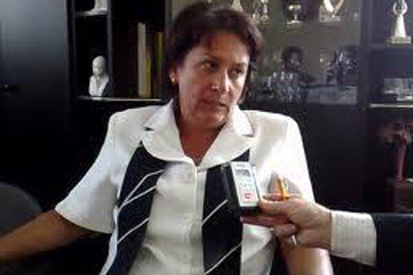 Krompachy Mayor Iveta Rušinová