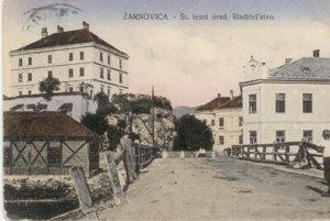 Forestry office in Žarnovica
