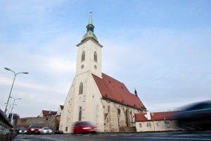 St Martin Cathedral in Bratislava