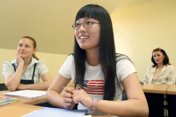 Many foreigners come to study in Slovakia.