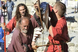 Limes Day, Roman games in Gerulata 2011