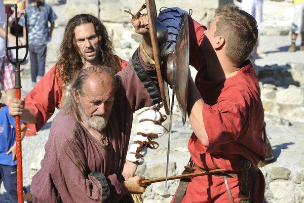 Limes Day, Roman games in Gerulata 2011