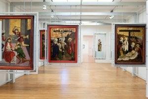 Master of Okoličné exhibition in SNG