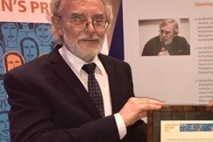Blogger Ján Benčík receives the European Citizen's prize October 11.
