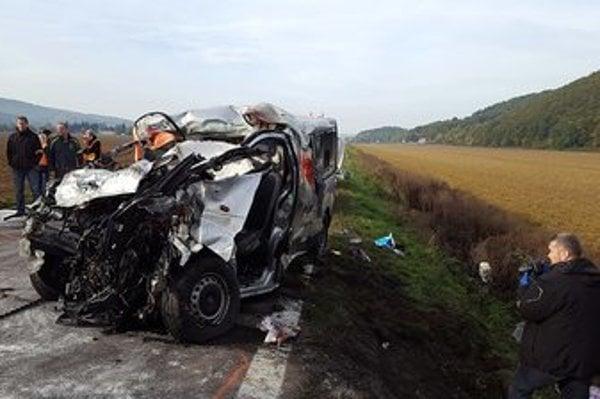 The crash site near Nitrica