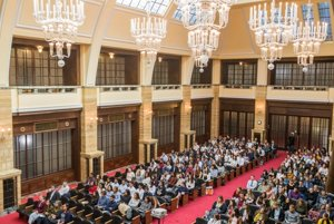 Auditorium of the Comenius University
