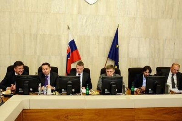 There is no woman in the current Slovak cabinet.
