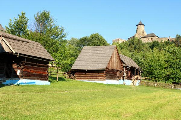 Open-air museum in Stará Ľubovňa