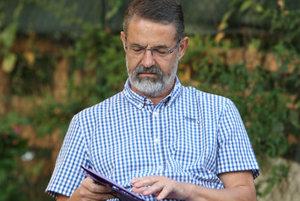 Candidate for Banská Bystrica governor Ivan Saktor, in an earlier election debate.