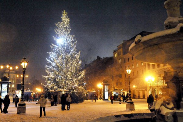 Christmas in Bratislava
