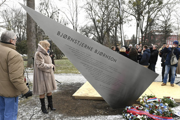 The Björnson memroial was unveiled February 6