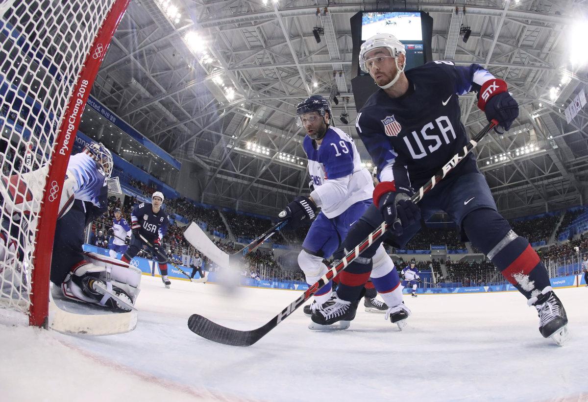 Slovak ice hockey team goes home