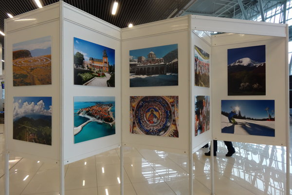 Bulgarian photo-exhibition at Bratislava airport