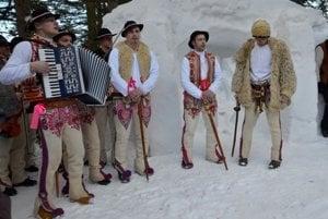 Folk ensemble from Lendak performs at the Bethlehem.
