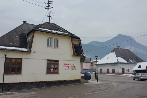 Traditional dumplings are baked and sold in this house in Muráň, in the Revúca Dsitrict.