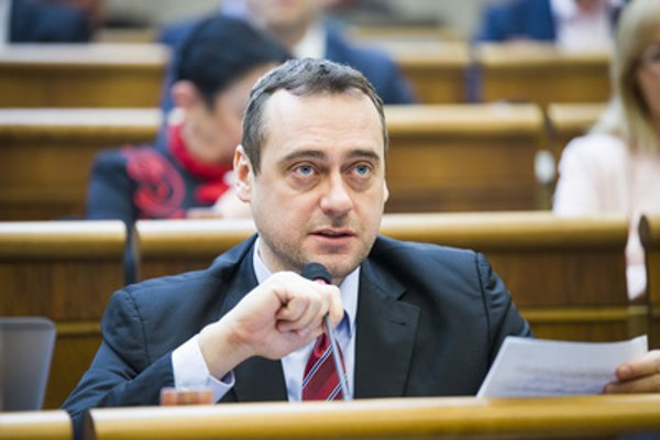 SaS MP Jozef Rajtár