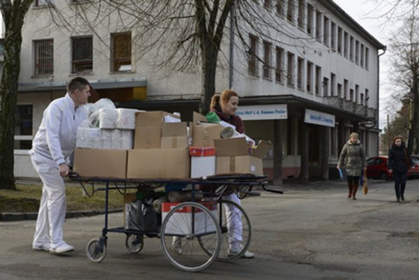 Prešov hospital strongly feels lack of nurses, February 1.