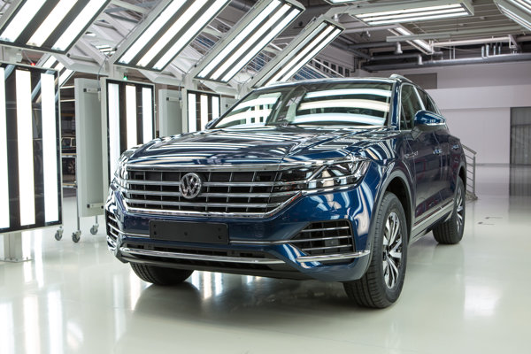 The third-generation Volkswagen Touareg