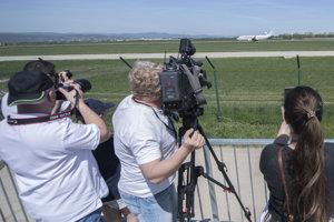 Bratislava airport lookout