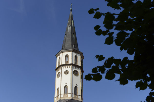 Tower of St James' Basilica in Levoča