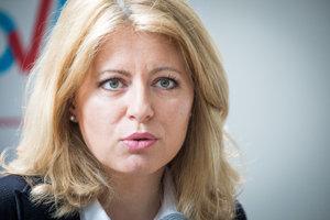 Presidential candidate Zuzana Čaputová
