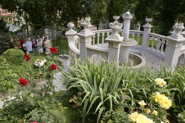 A private garden opened during one of previous years of the Weekend of Open Parks and Gardens.