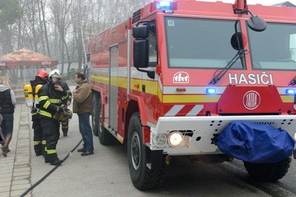 Fire brigade, illustrative stock photo
