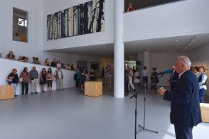 Opening of the exhibiiton of C.-H. Pedersen/Else Alfelt in Danubiana, June 16.