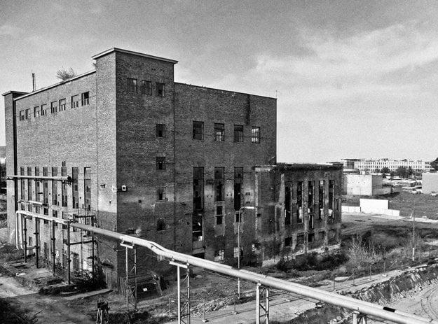 Jurkovič heating plant before renovation