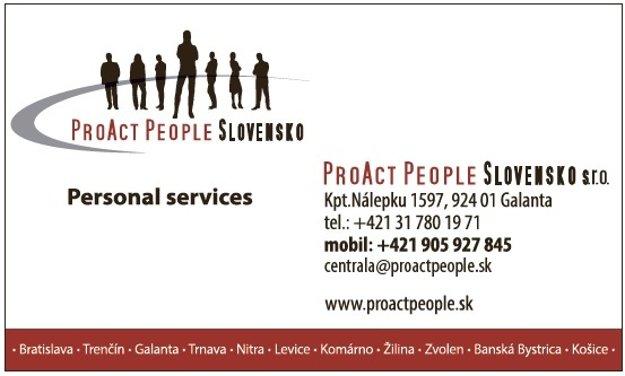 Proact people Slovensko