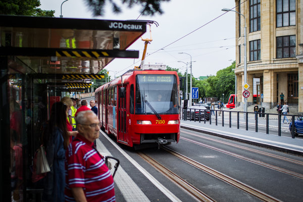 The new app will make travelling in Bratislava and its vicinity easier.