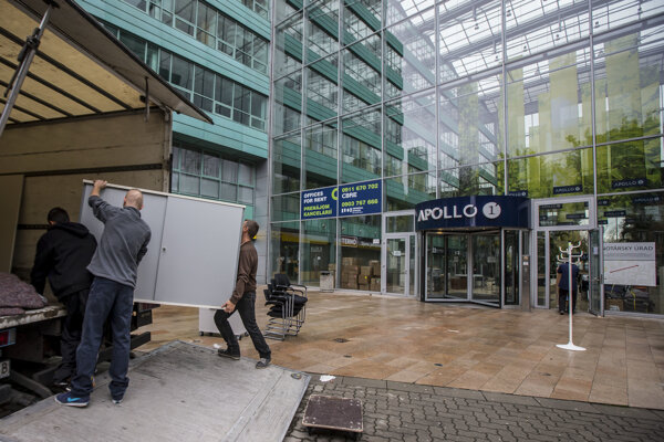 Tenants were forced to leave Apollo Business Centre 1 last autumn.