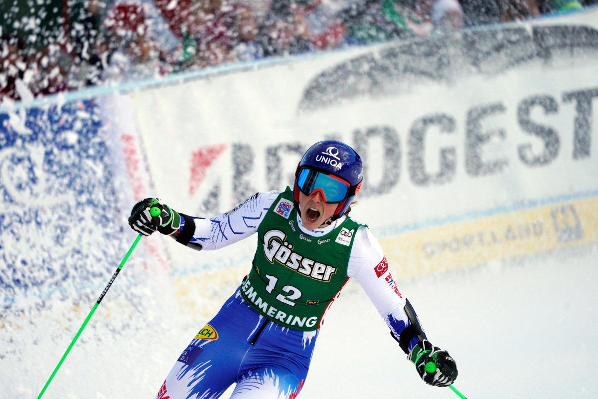 579372c8f3f4 Slovak skier Vlhová wins Semmering Giant Slalom - spectator.sme.sk