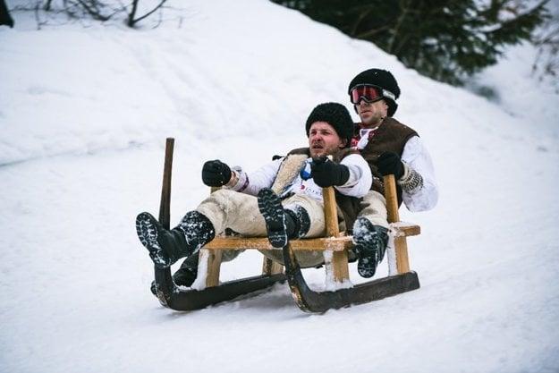 Krňačky means a horn sledge in Slovak