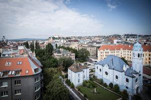 Bratislava's Blue Church