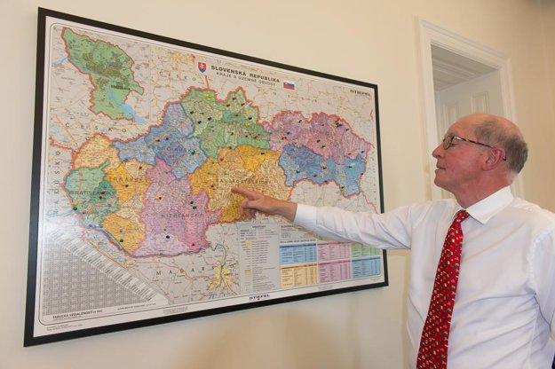 Ambassador Sedgwick reviews his visits around Slovakia.