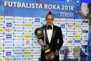 Slovak midfielder Marek Hamšík was named Slovakia's Football Player of the Year.