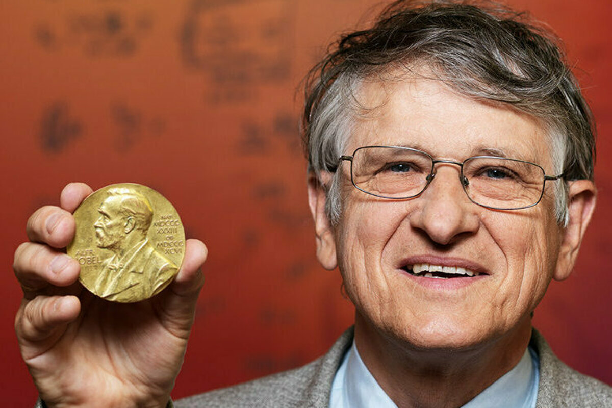 60416b1491f0 Nobel Prize winning scientist will give a public lecture in Bratislava -  spectator.sme.sk