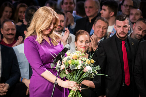 Zuzana Čaputová is the first woman to be elected president of Slovakia.
