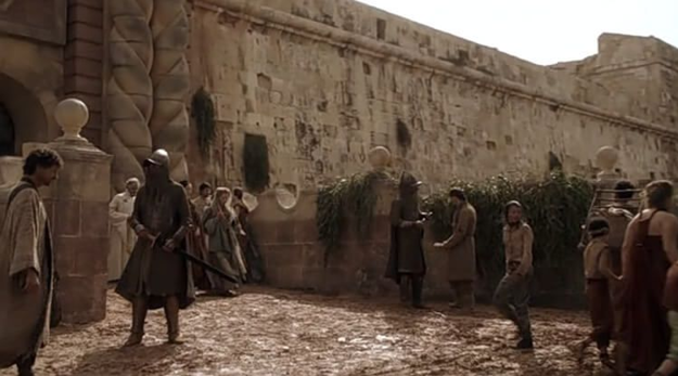 Red Keep Gate in King's Landing