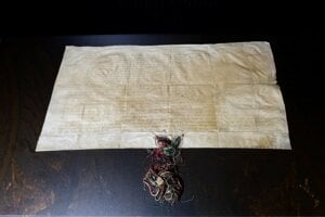 Original charter issued by Andrew III granting municipal privileges to Bratislava.