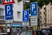 Parking in Bratislava now.
