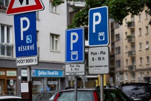 Parking in Bratislava now.